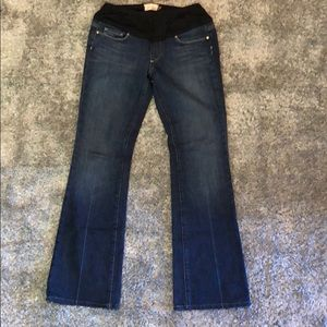 Paige Maternity Laurel Canyon Boot Cut Jeans
